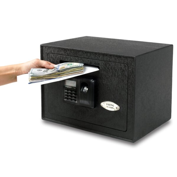 Viking Security Safe Biometric Lock Depository Safe by Viking Security Safe