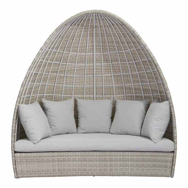 Valencia Patio Daybed with Cushions by Bayou Breeze Bayou Breeze