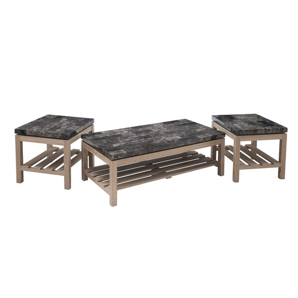 Roger 2 Piece Coffee Table Set by Red Barrel Studio
