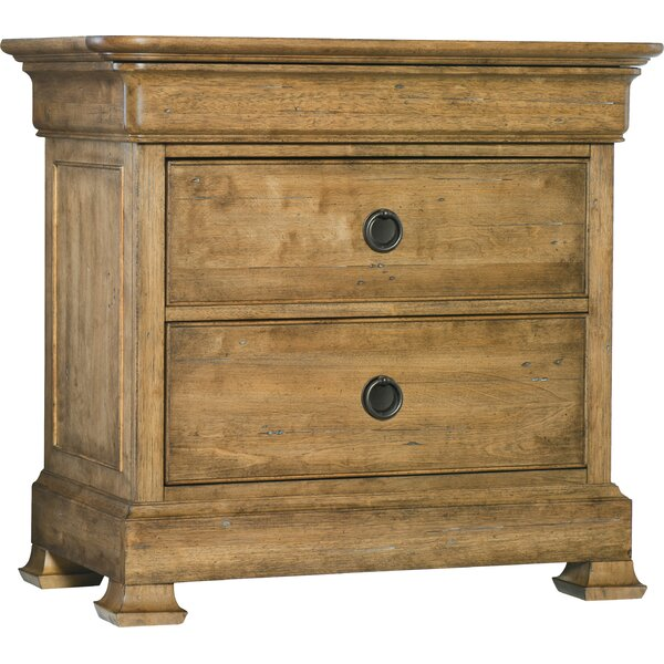 Archivist 2 Drawer Nightstand by Hooker Furniture