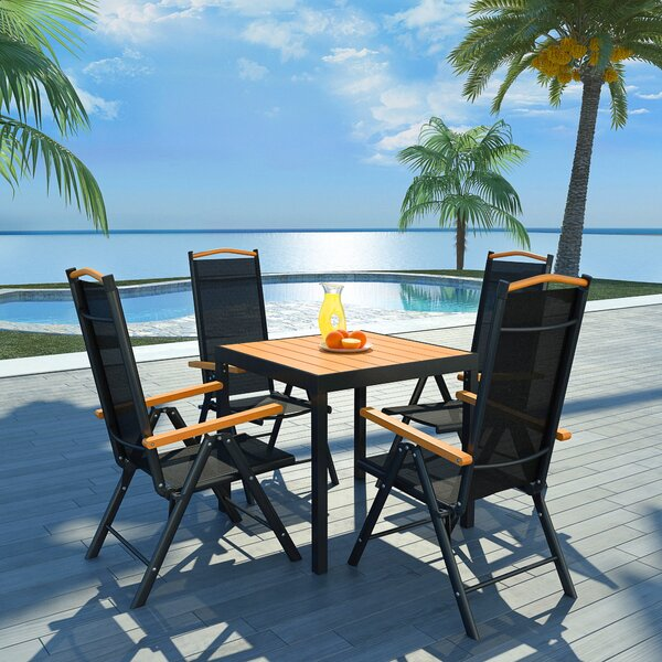Callisburg 5 Piece Dining Set by Bay Isle Home