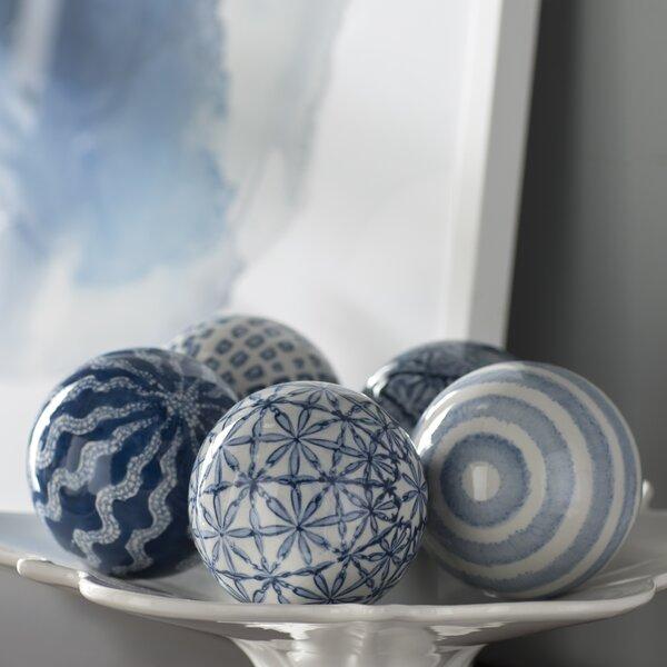 Spheres 5 Piece Sculpture Set by Mercury Row