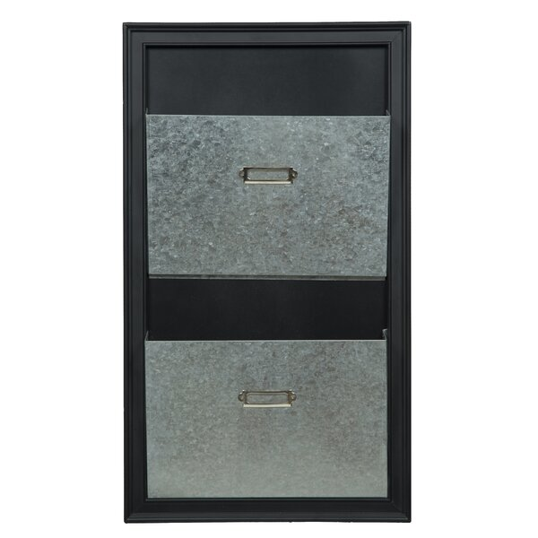 Gallery Solutions Metal Wall Mounted Mailbox by Nielsen Bainbridge
