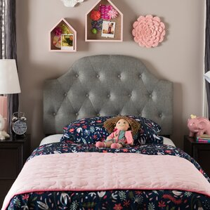 Rosanna Twin Upholstered Panel Headboard by Latitude Run