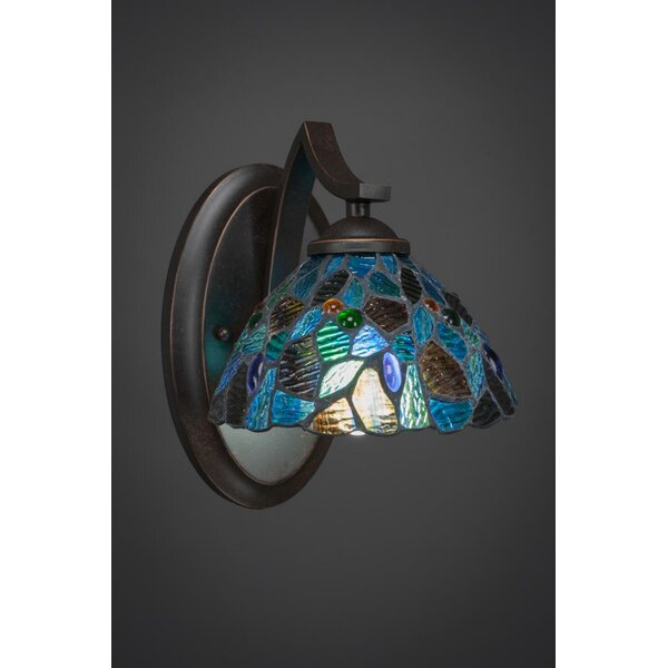 Cambridge 1-Light Armed Sconce by World Menagerie