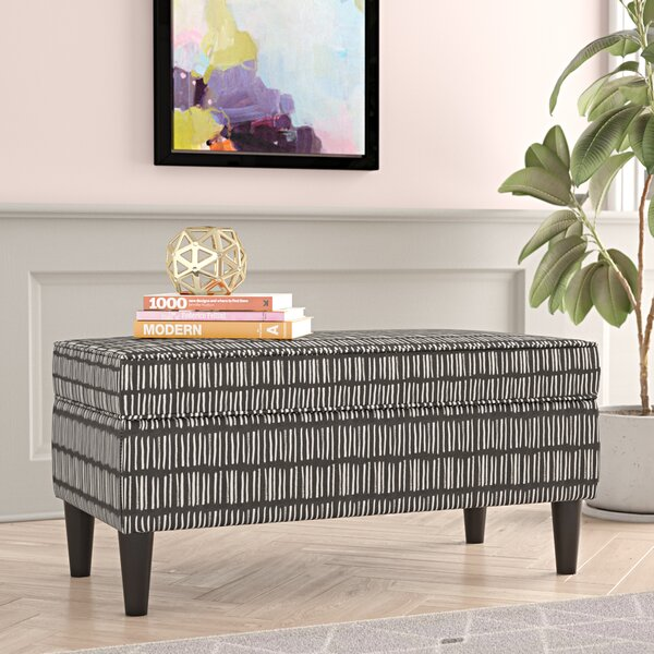 Fabian Upholstered Storage Bench by Ivy Bronx