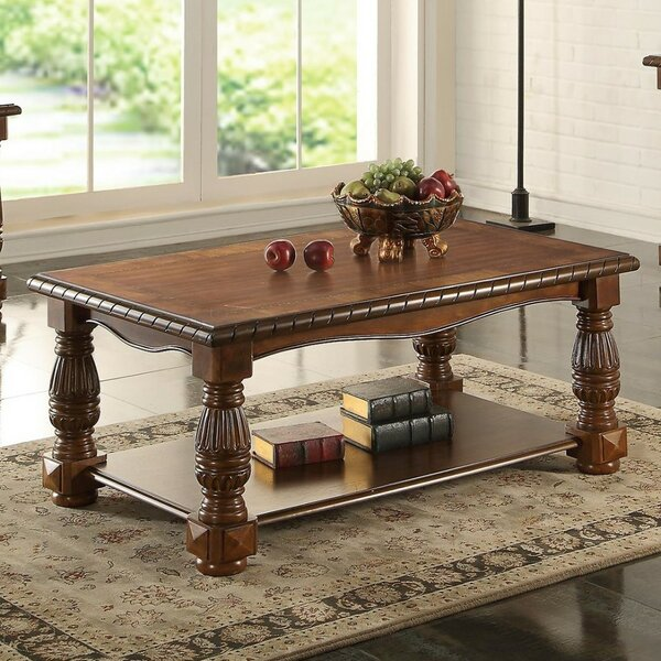 Gladsaxe Ash Burl Coffee Table by Fleur De Lis Living