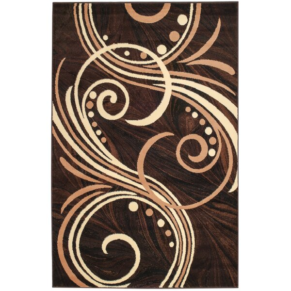 Frieda Brown Area Rug by Andover Mills