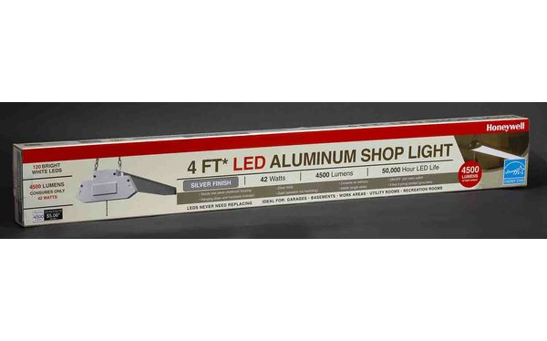 LED Aluminum Shop Light by Honeywell