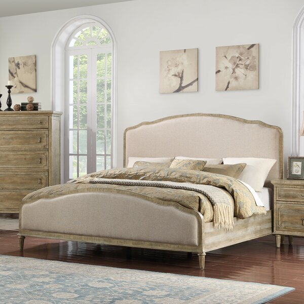 Clintwood Upholstered Standard Bed by Three Posts