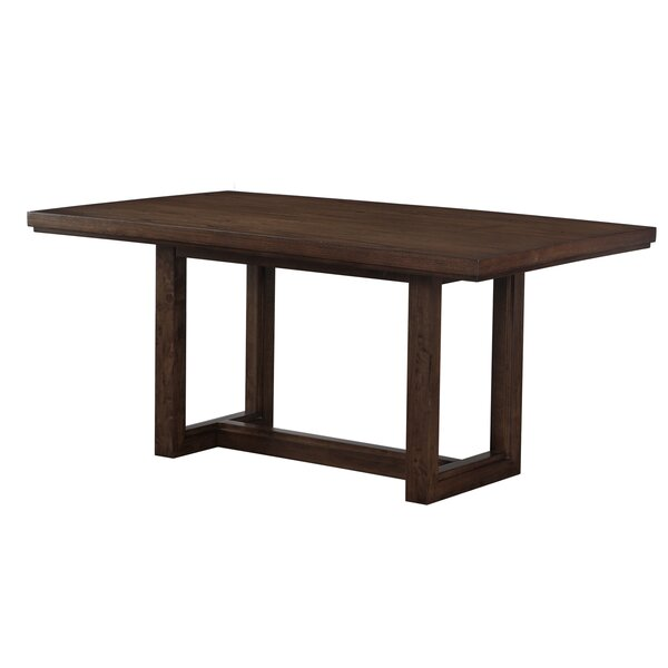 Heffron Wood Dining Table by Red Barrel Studio