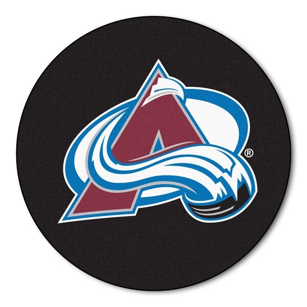 NHL - NCAAorado Avalanche Puck Doormat by FANMATS
