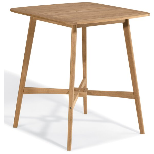 Kentmere Wood Bar Table by Bay Isle Home