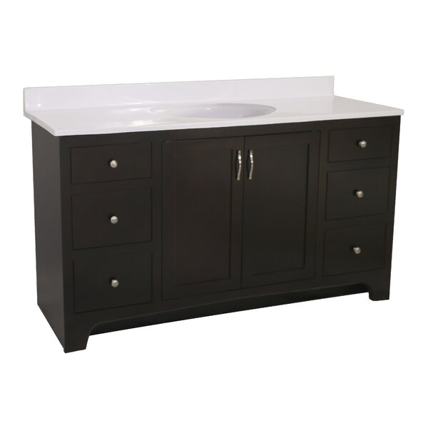 Steubenville -Door 61 Single Bathroom Vanity by Andover Mills
