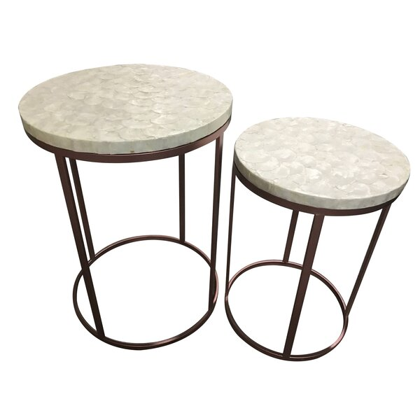 Kyra 2 Piece End Table by Ivy Bronx