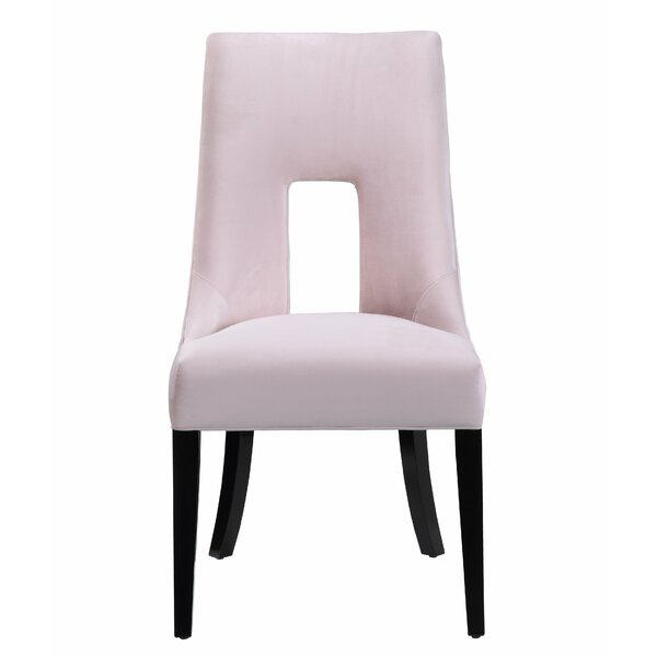 Cushman Upholstered Dining Chair by Everly Quinn
