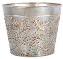 Hammondale Metal Pot Planter by World Menagerie