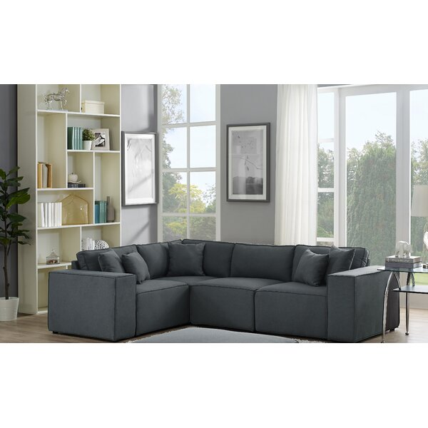 Necaise Modular Sectional by Gracie Oaks