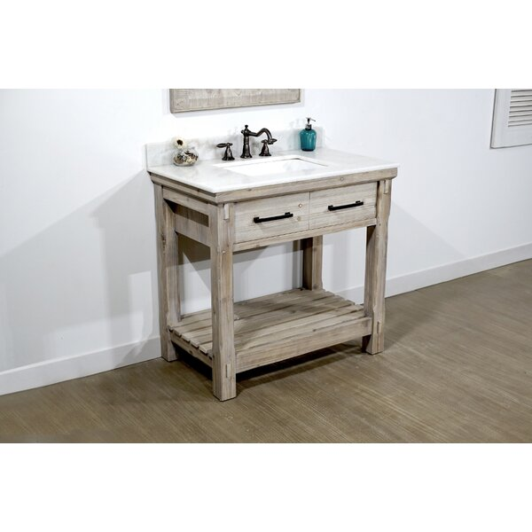 Ezra 37 Single Bathroom Vanity Set by Millwood Pines
