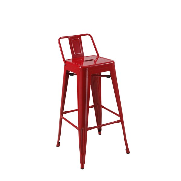 Deitch 30 Bar Stool (Set of 4) by Mercury Row