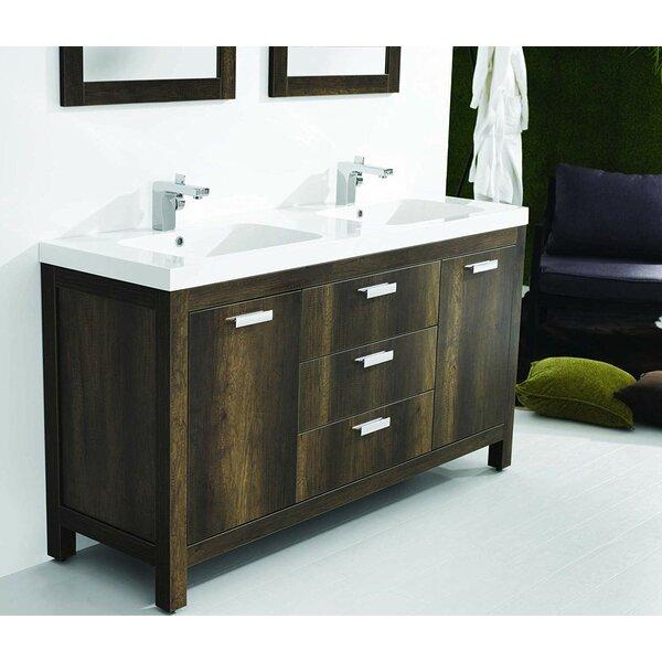 Seamus 59 Double Bathroom Vanity Set