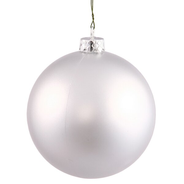 Plastic Ball Ornament (Set of 60) by The Holiday Aisle