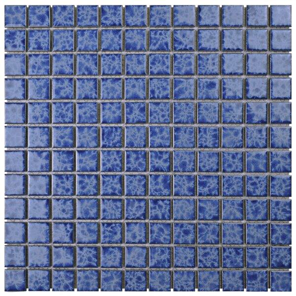 Waterfall 0.91 x 0.91 Porcelain Mosaic Tile in Catalan by EliteTile
