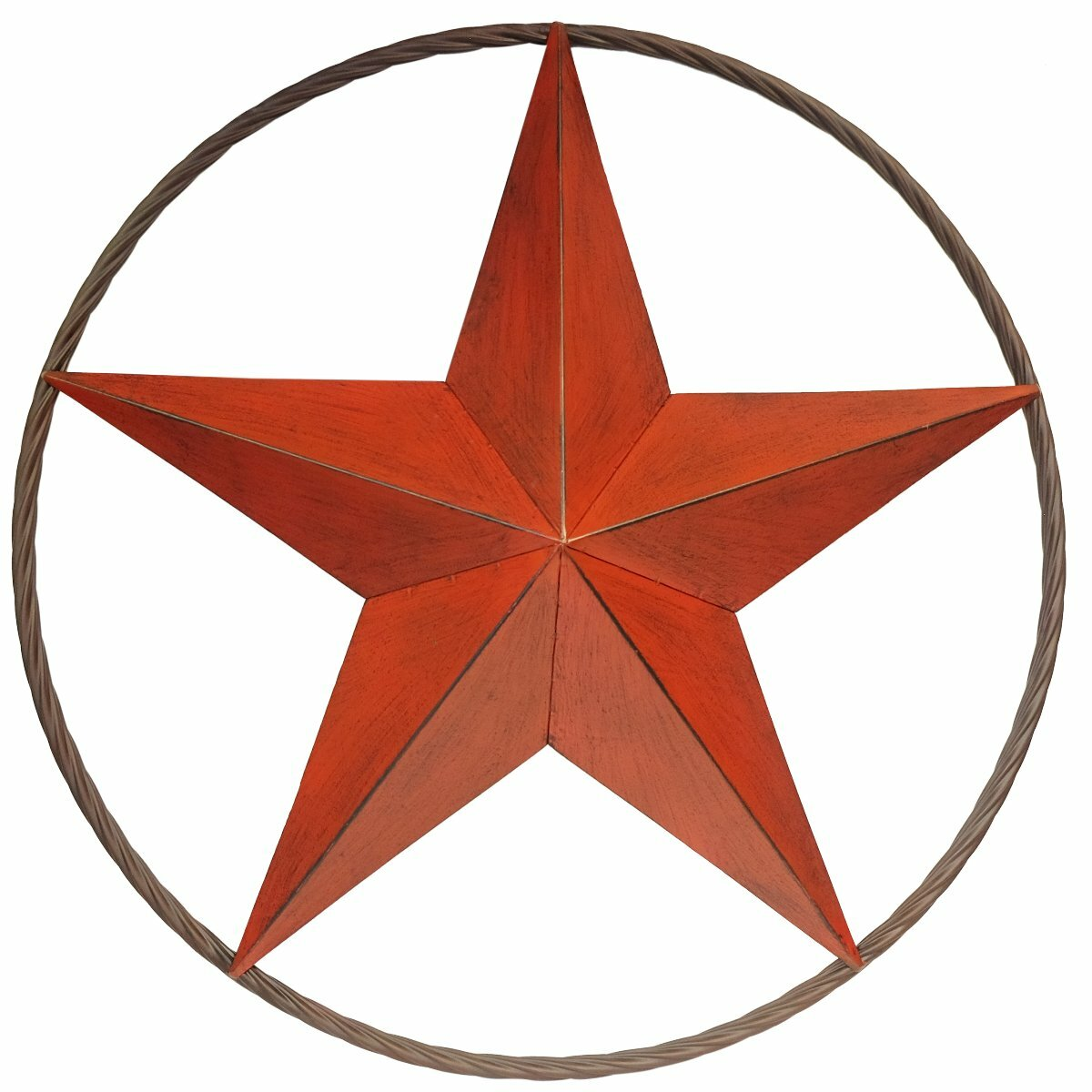 Millwood Pines Star Metal Wall Décor