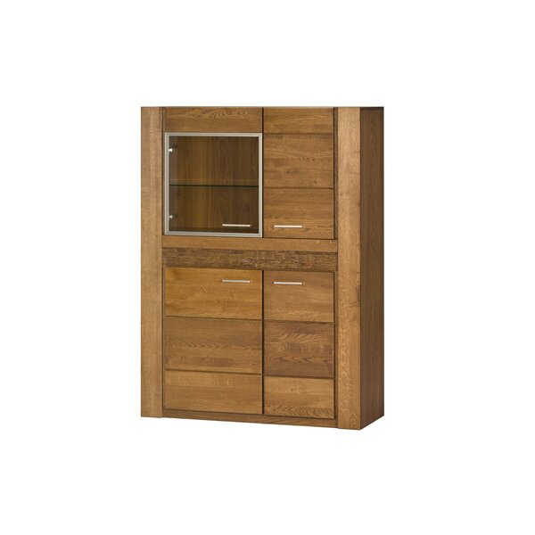 Jamar 4 Door Lighted China Cabinet by Loon Peak
