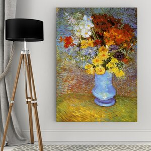 'Vase of Flower' by Vincent Van Gogh Print of Painting by Wexford Home