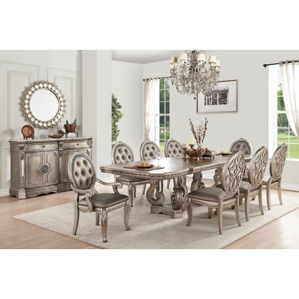 Doreen 9 Pieces Extendable Dining Set by House of Hampton