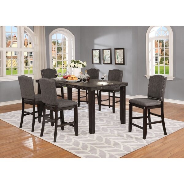 Dyess 7 Piece Dining Set by Darby Home Co