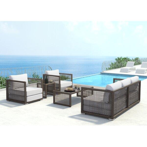 Baca Deep Sofa Seating Group with Cushions by Brayden Studio Brayden Studio