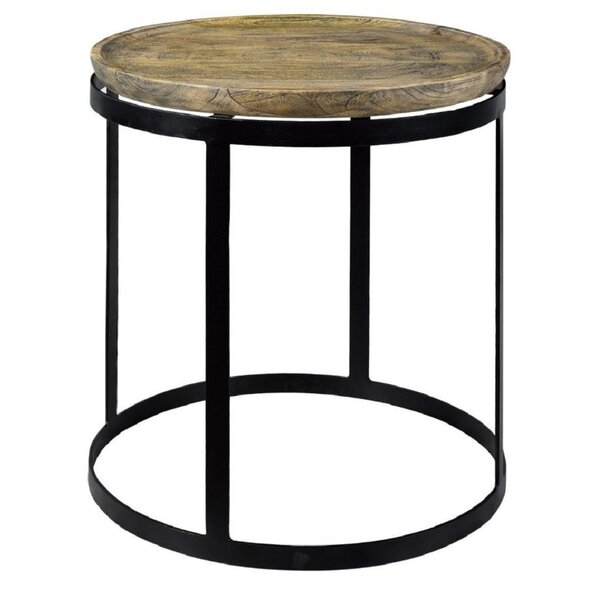 Trenton End Table by 17 Stories