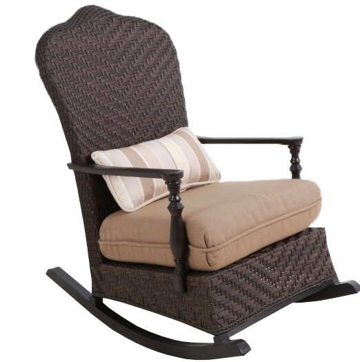 Bungalow Rocking Chair with Cushion by Paula Deen Home