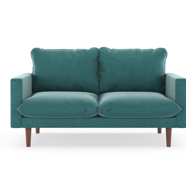 Simon Mod Velvet Loveseat by Modern Rustic Interiors