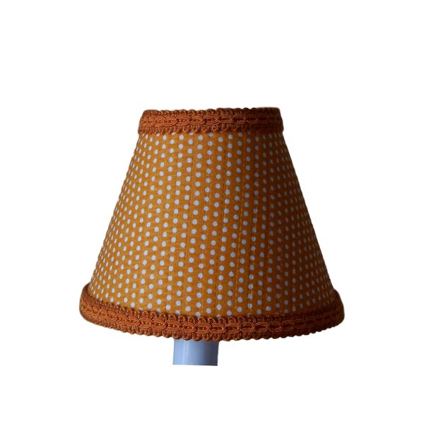 Crush 5 Fabric Empire Candelabra Shade by Silly Bear Lighting