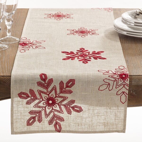 Nivalis Table Runner by The Holiday Aisle