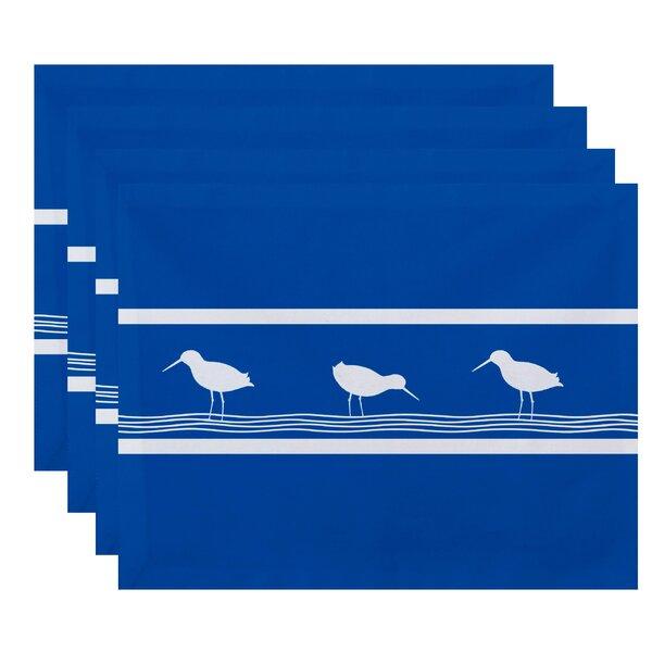 Hancock Birdwalk Animal Print Placemat (Set of 4) by Breakwater Bay