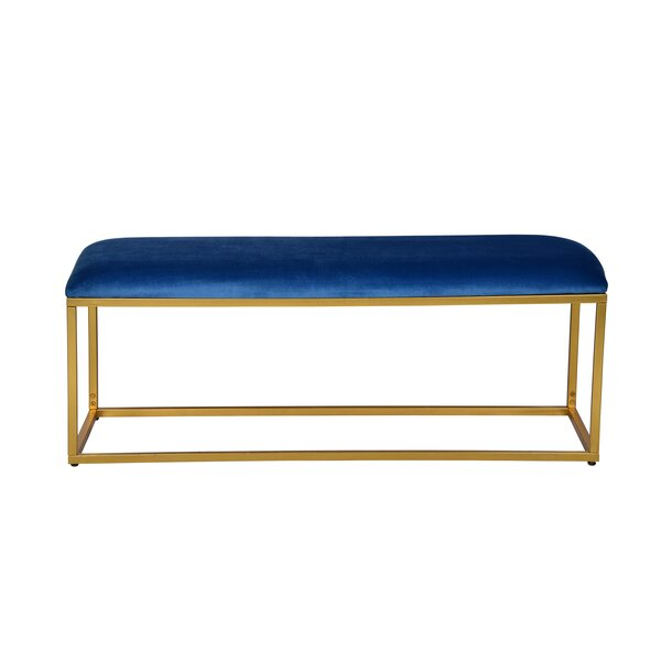 Ledbury Upholstered Bench By Everly Quinn