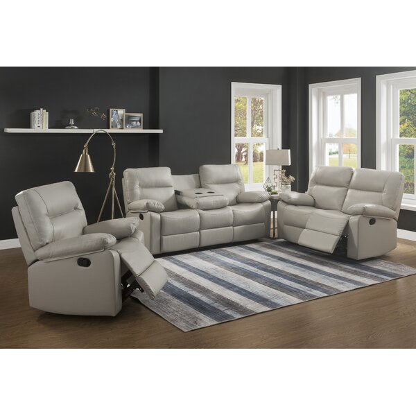 Kenzie Reclining Configurable Living Room Set by Ebern Designs