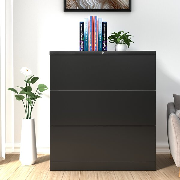 Home office 3-Drawer Vertical Filing Cabinet