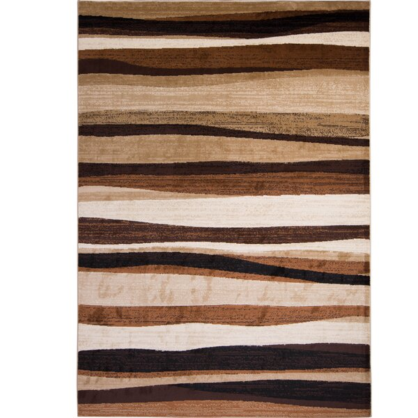 Salas Brown Area Rug by Zipcode Design