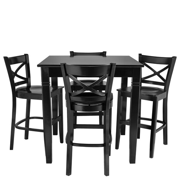 Weisinger 5 Piece Pub Table Set by Red Barrel Studio