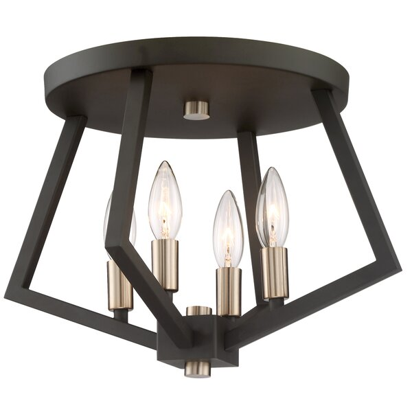 Greggory 4-Light Flush Mount by Corrigan Studio