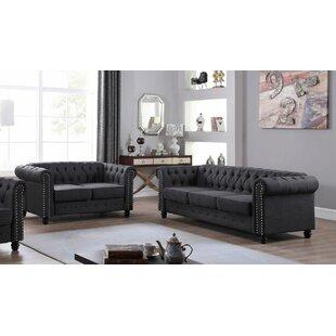 Hubert 2 Piece Living Room Set by Alcott Hill®
