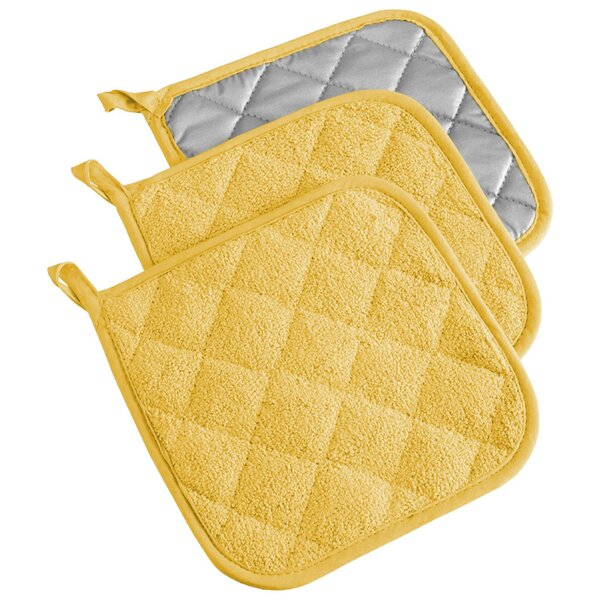 Terry Potholder (Set of 3) by Design Imports
