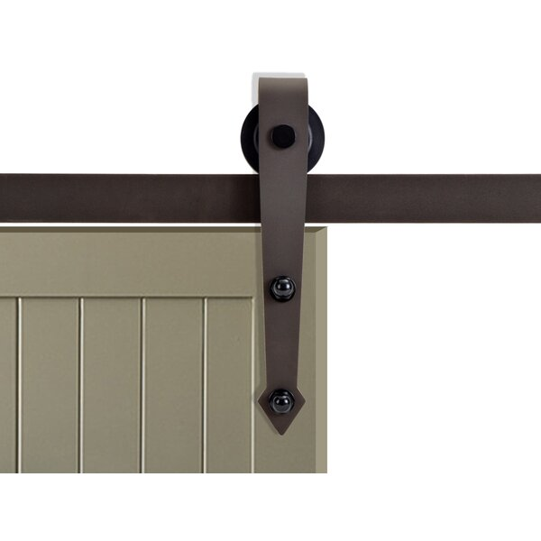 Vintage Arrow Style Sliding Door Track Barn Door Hardware by Calhome