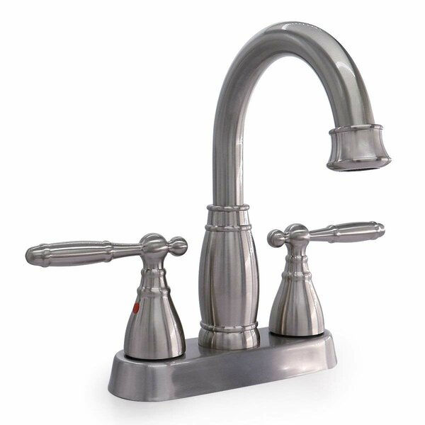 Centerset Bathroom Faucet with Drain Assembly by Phiestina