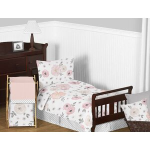 Floral Toddler Bedding Set